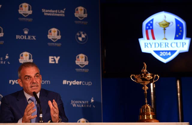 Paul McGinley was able to guide Europe to a third consecutive victory in the Ryder Cup
