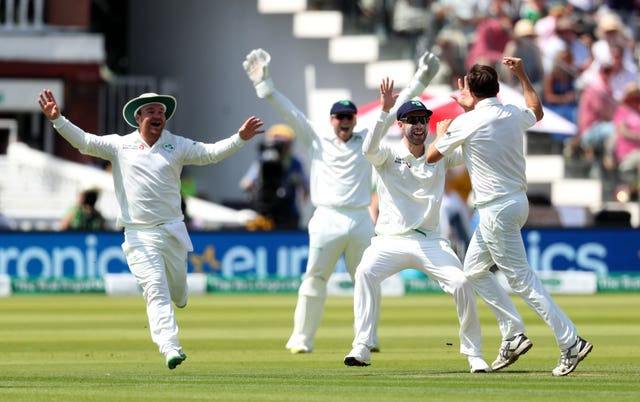 Ireland committed 'midsummer Murtagh' on day one of the Test