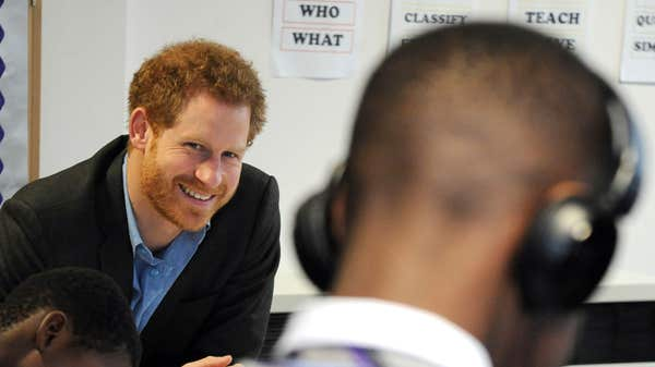 Harry to mark World Mental Health Day with community visits