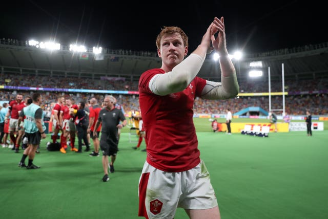 Rhys Patchell was a first-half replacement for Dan Biggar