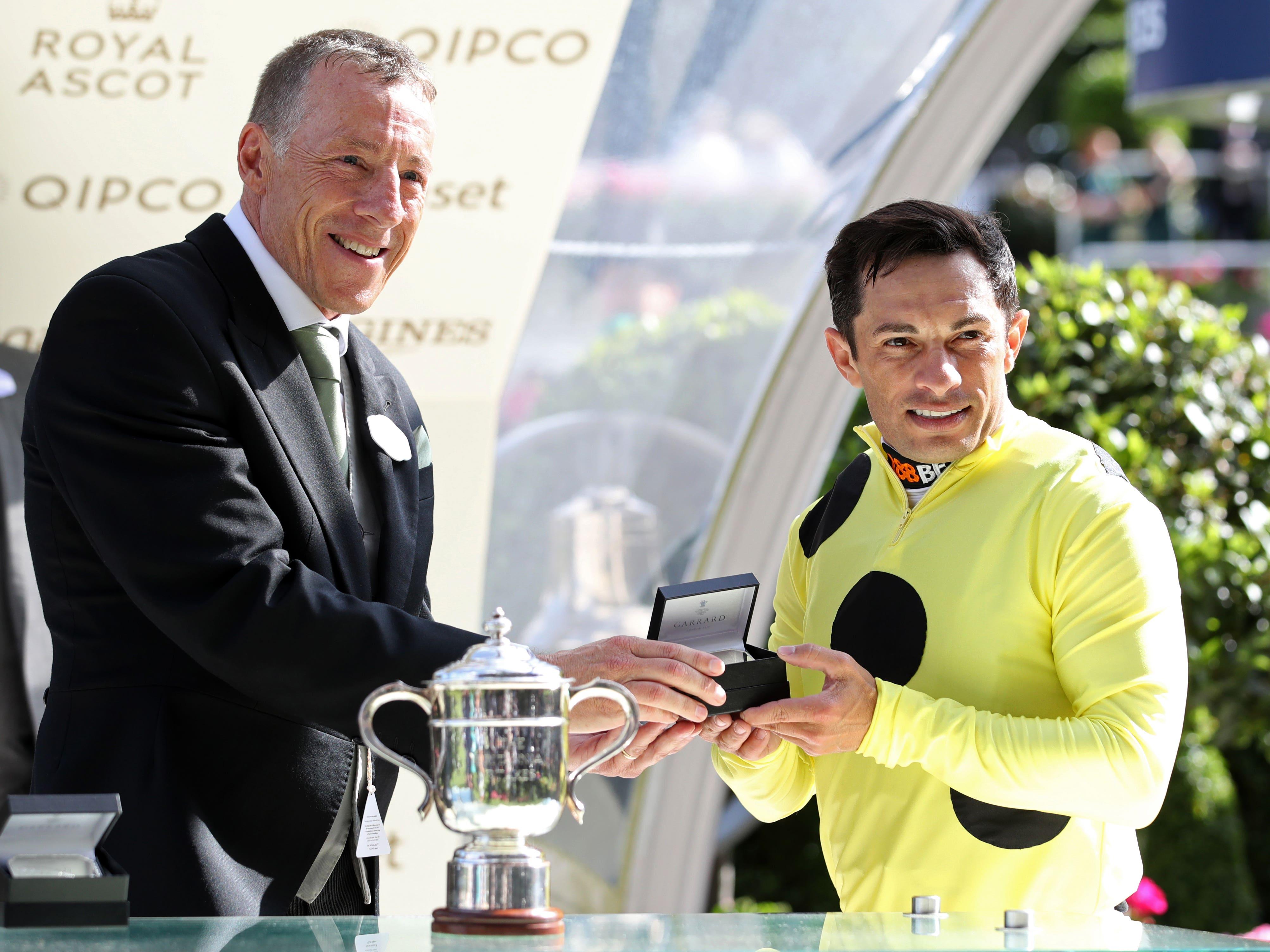 Silvestre de Sousa misses Champions Day (John Walton/PA)