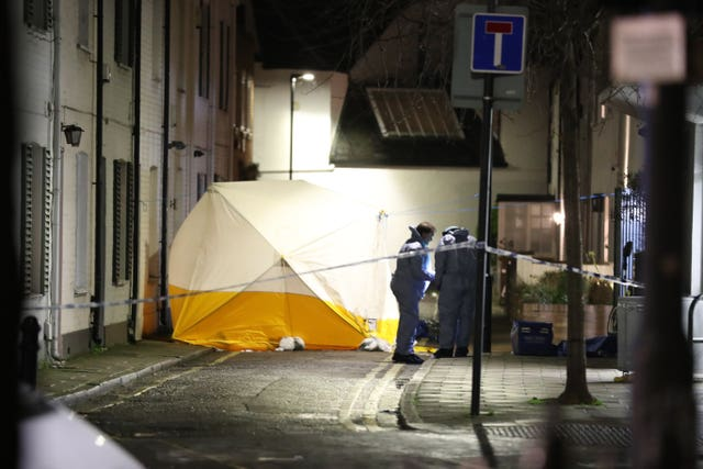A teenager was stabbed  in Lanfrey Place, West Kensington, London, and later died in hospital