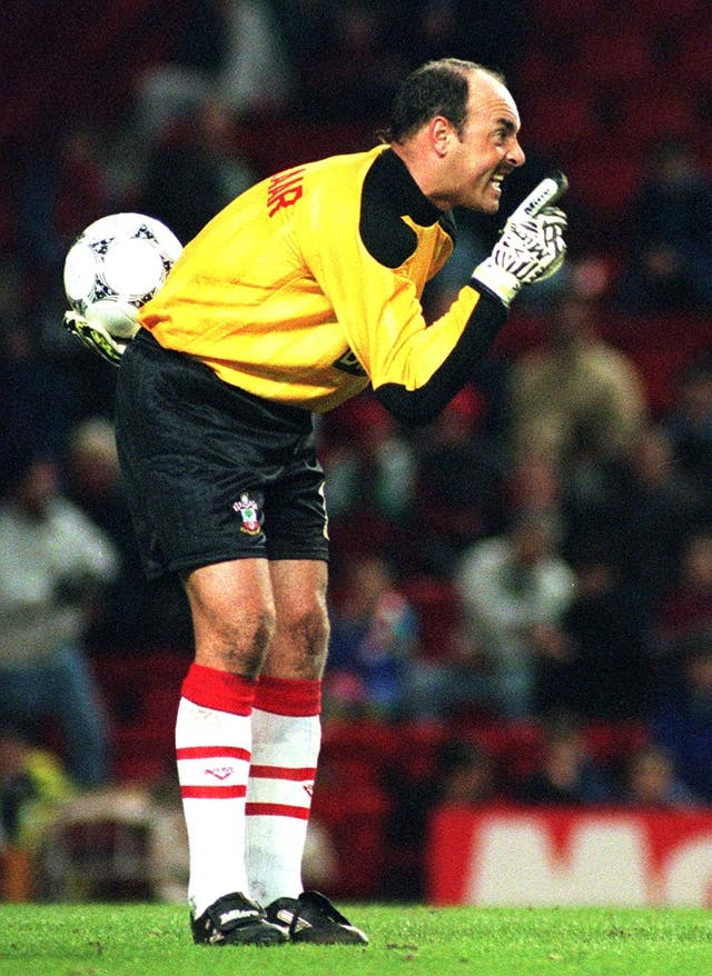 Bruce Grobbelaar went on to play for Southampton