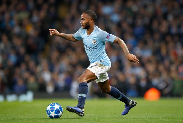 Manchester City's Raheem Sterling has been widely praised