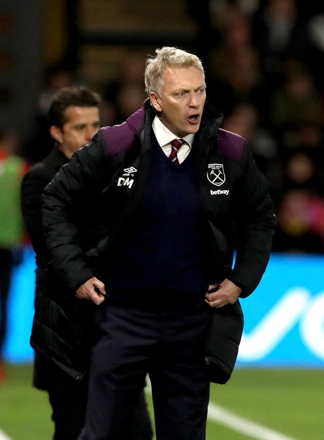David Moyes had an unhappy debut as West Ham boss