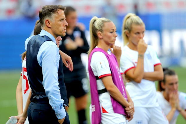 England saw their Women's World Cup ended at the semi-final stage