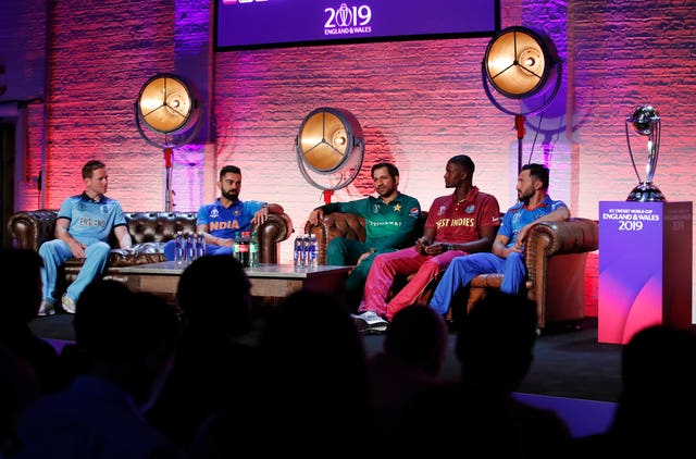 Cricket World Cup Captain's Launch Event