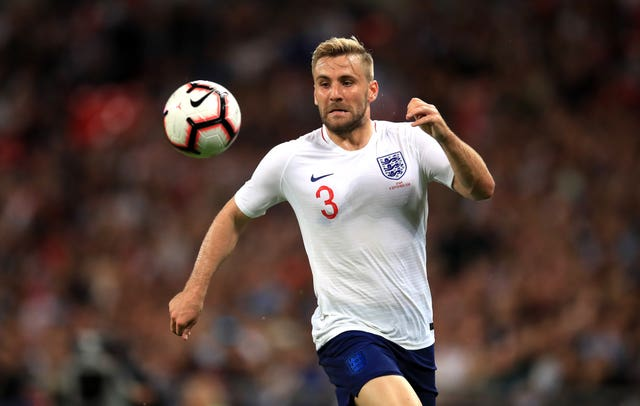 Luke Shaw has not played for England since facing Spain in the Nations League in September 2018