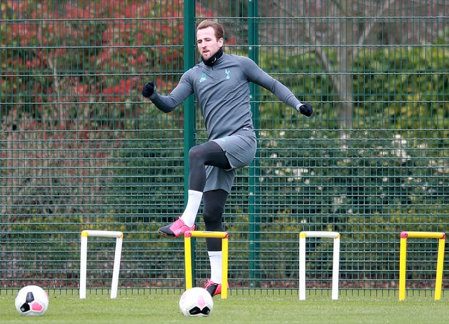 Kane had just resumed outdoor training when the season ground to a halt