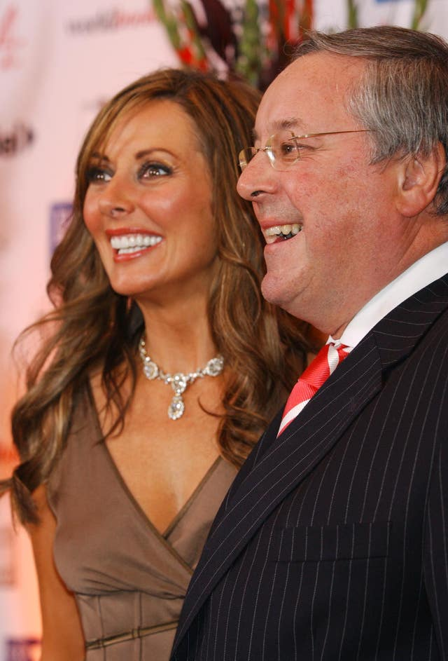 Former Countdown co-stars Carol Vorderman and Richard Whiteley