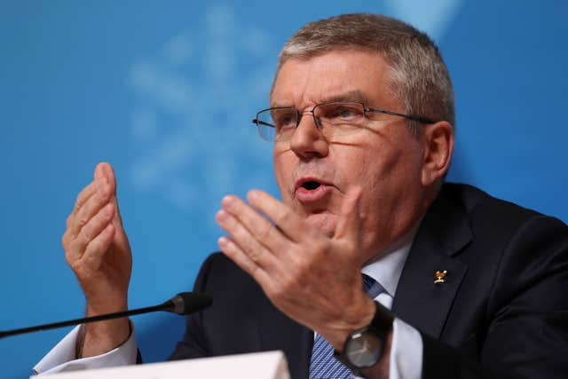 IOC president Thomas Bach faced criticism for the time it had taken to announce a postponement