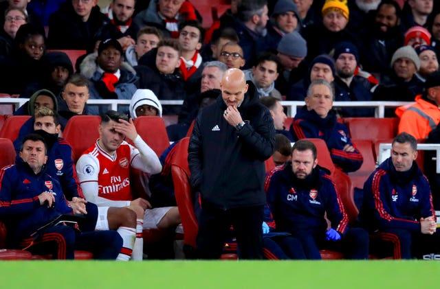 Arsenal suffered a shock home defeat to Brighton in midweek