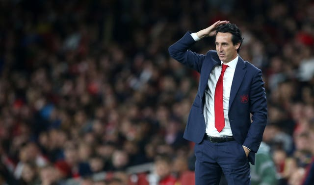 Emery has been impressed by Ozil's reaction
