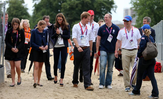 The royals at the Olympics