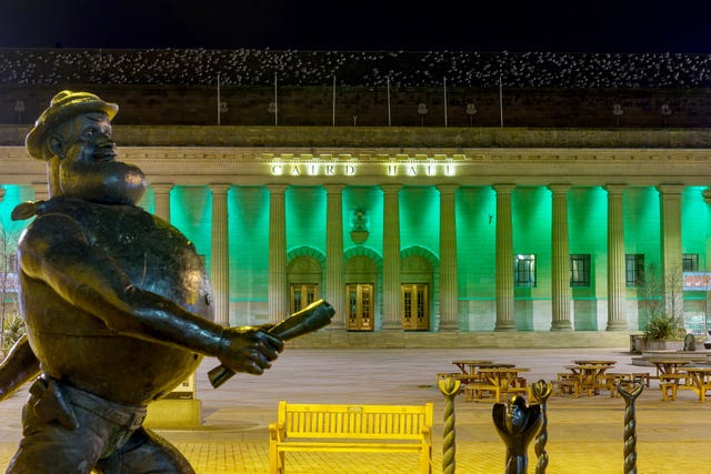 The Caird Hall in Dundee