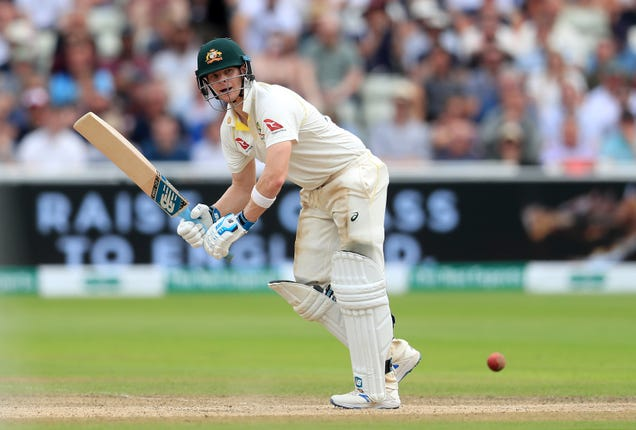 Smith admits he was nervous on his Test return