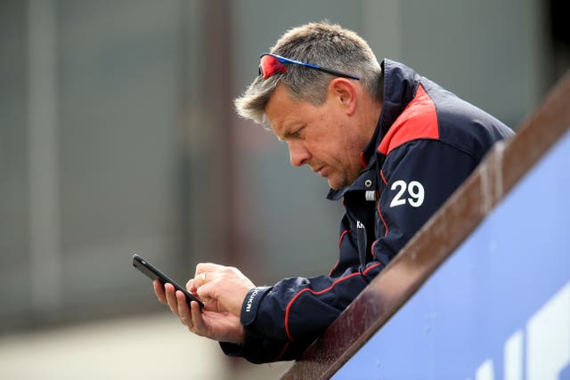 Ashley Giles was left to tell Hales the news