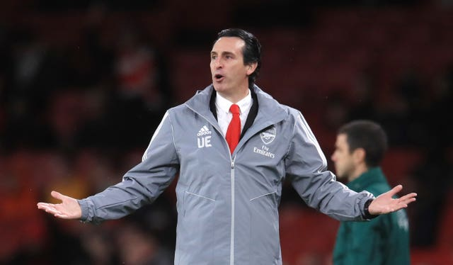 Unai Emery lost his job after defeat to Frankfurt