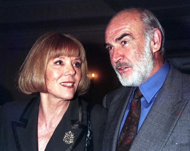 Awards/Rigg/Connery
