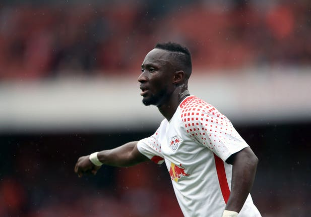 Keita was a big hit for his former club RB Leipzig