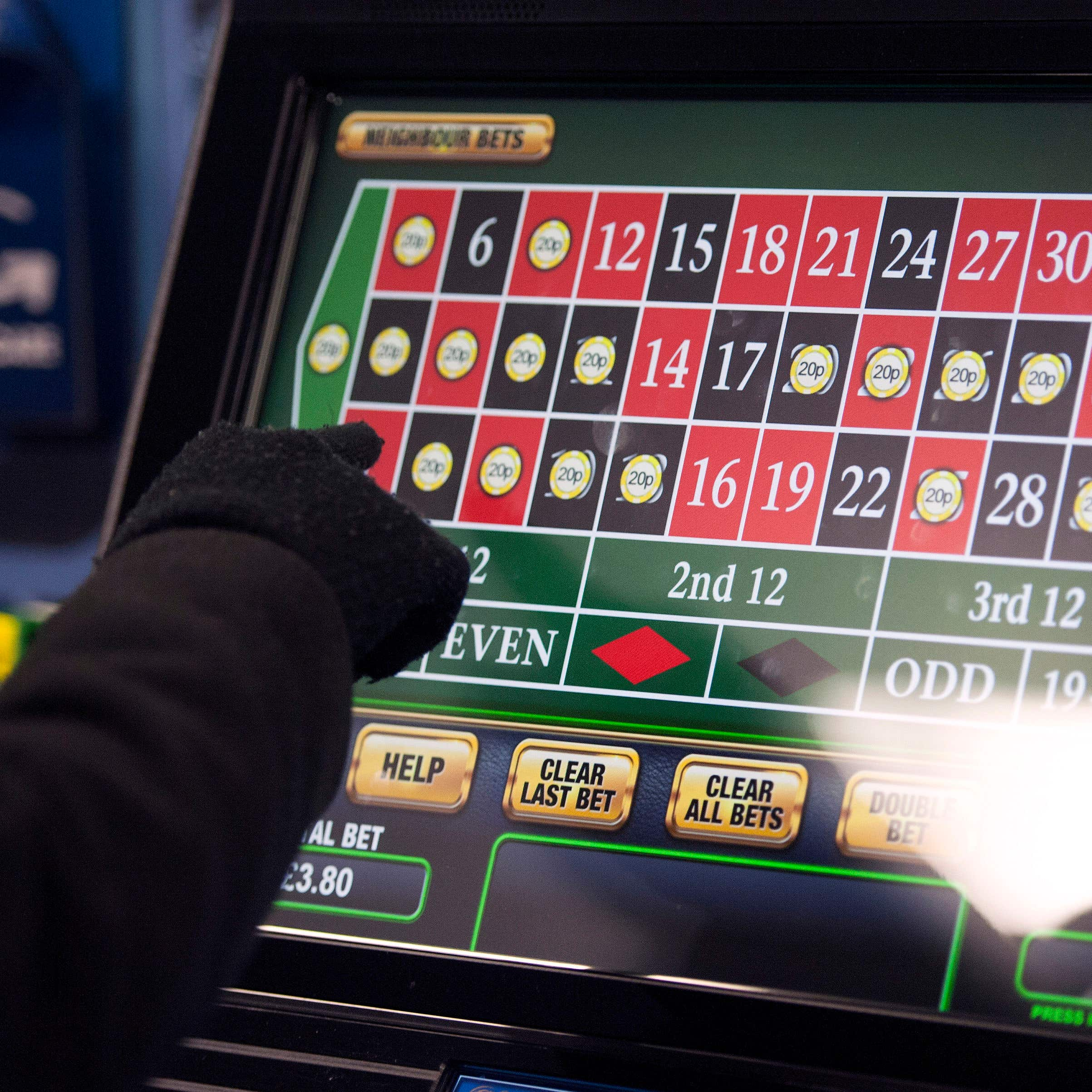 Maximum stakes on fixed odds betting terminals will be cut in April 2019