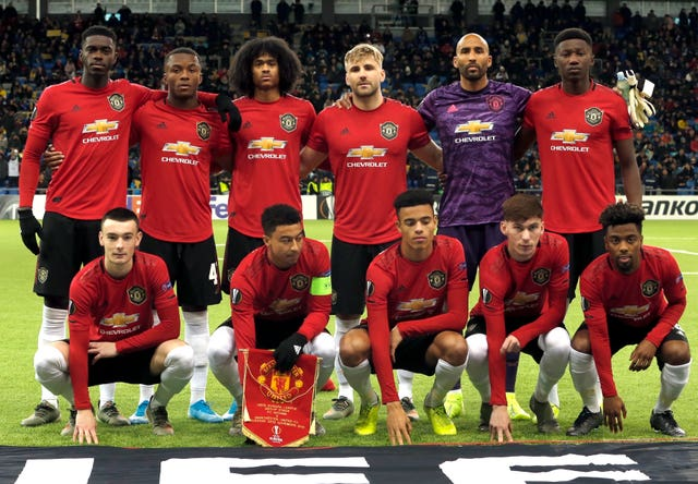 United fielded their youngest ever side for a major continental match