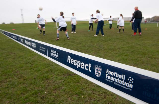 The Football Association have produced campaigns on respecting referees' over the years