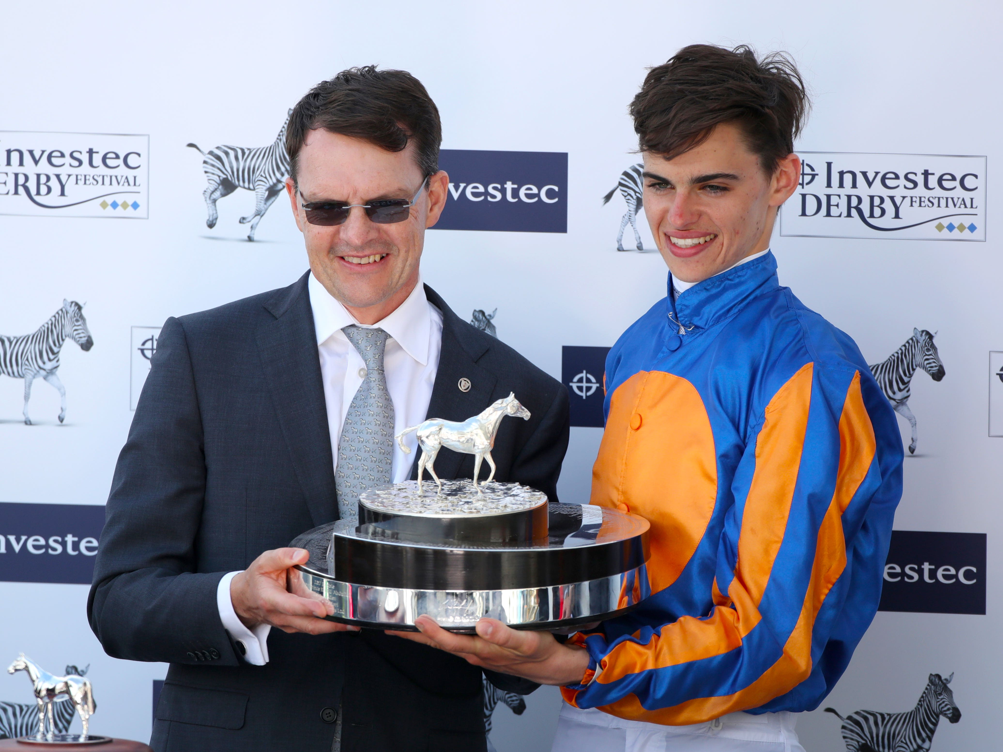 Aidan and Donnacha O'Brien teamed up to win with Pistoletto at Tipperary (John Walton/PA)