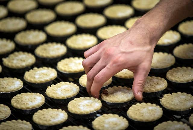 Mr Kipling mince pie factory