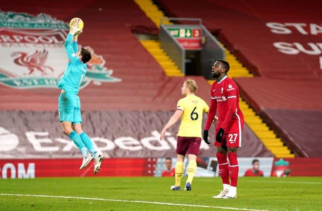 Divock Origi montre sa déception contre Burnley