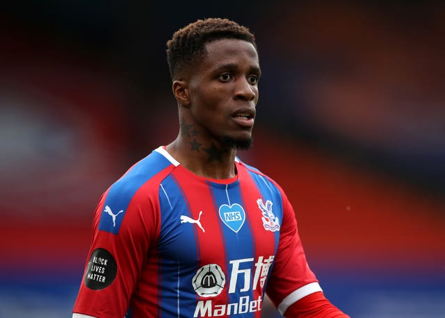 Wilfried Zaha was the victim of abuse