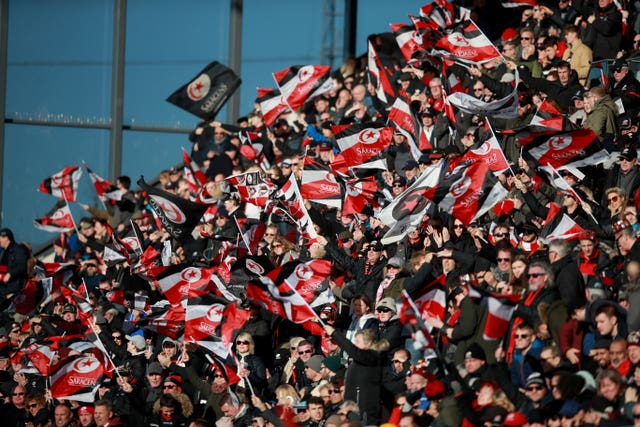 Saracens are to be relegated at the end of the season