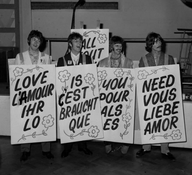Beatles break-up anniversary