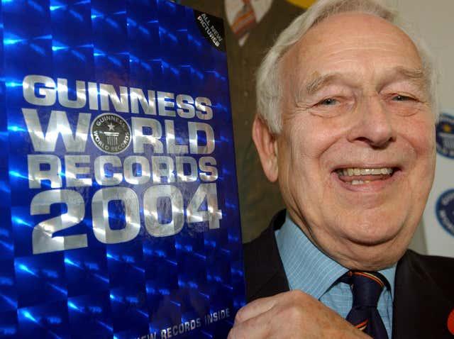 McWhirter 100 Millionth Guinness Book of World Records
