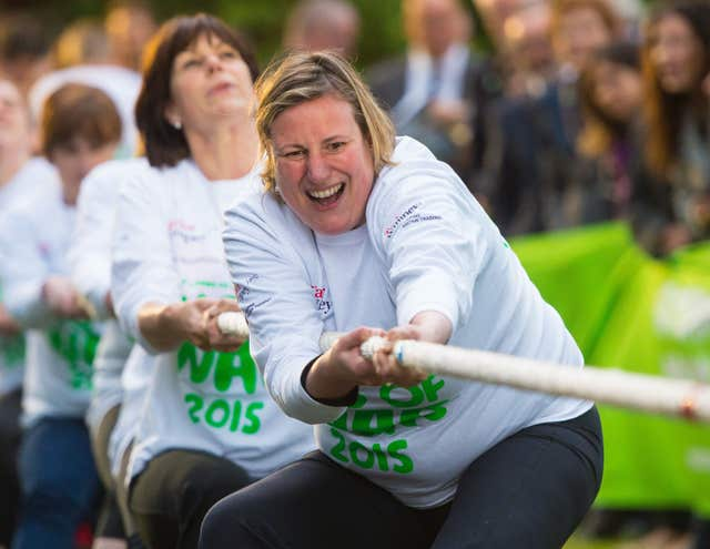 MacMillan Parliamentary Tug of War