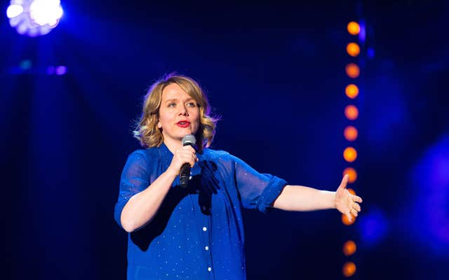 Kerry Godliman had been due to perform at the event (Dominic Lipinski/PA)