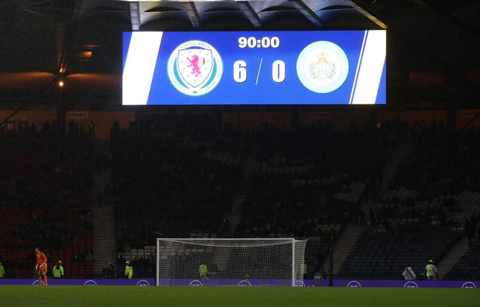 Scotland ran riot at Hampden