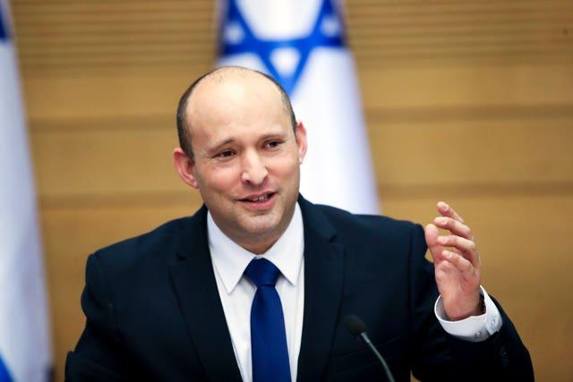New Israeli Prime Minister Naftali Bennett (Ariel Schalit / AP)