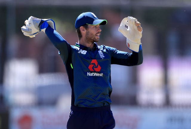 Ben Foakes was England's wicketkeeper in the first two Tests in the West Indies