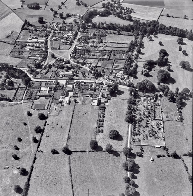Aerial photograph made available online