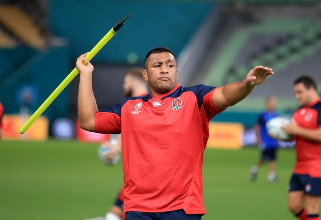 Mako Vunipola is poised to make his first appearance of the World Cup against Argentina