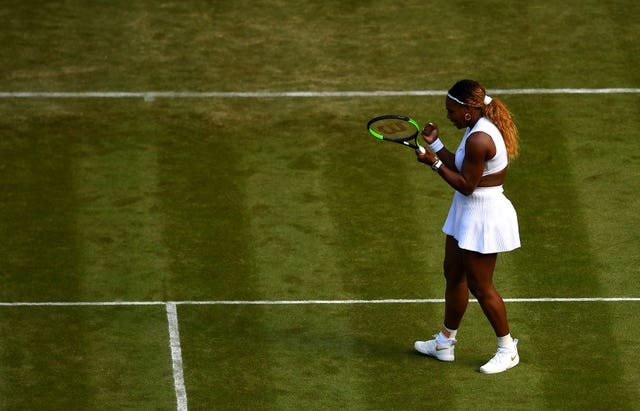 Serena Williams got her singles campaign off to a winning start on Tuesday