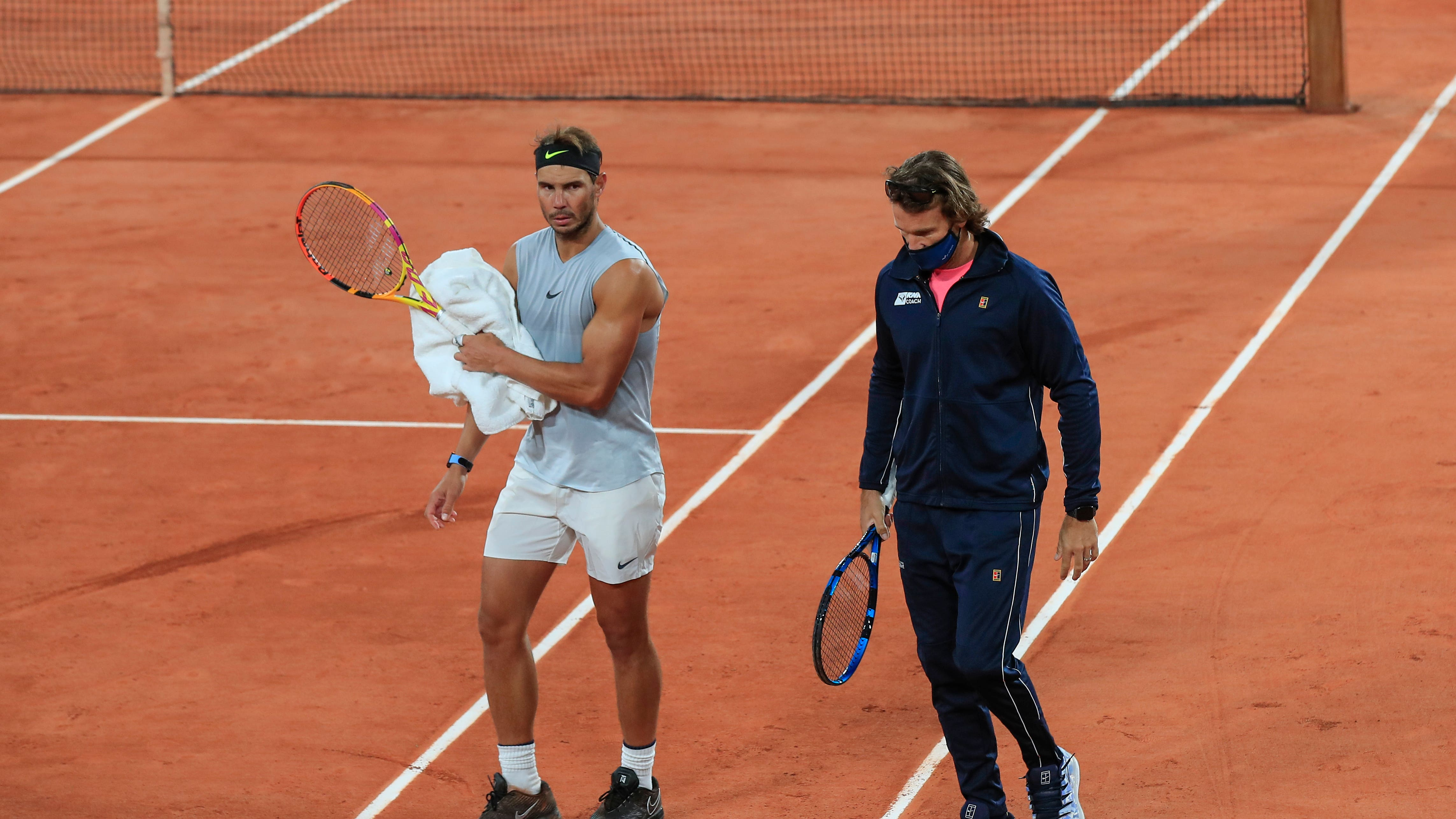 Rafael Nadal Preparing For The Most Difficult Conditions At Roland Garros Bt Sport
