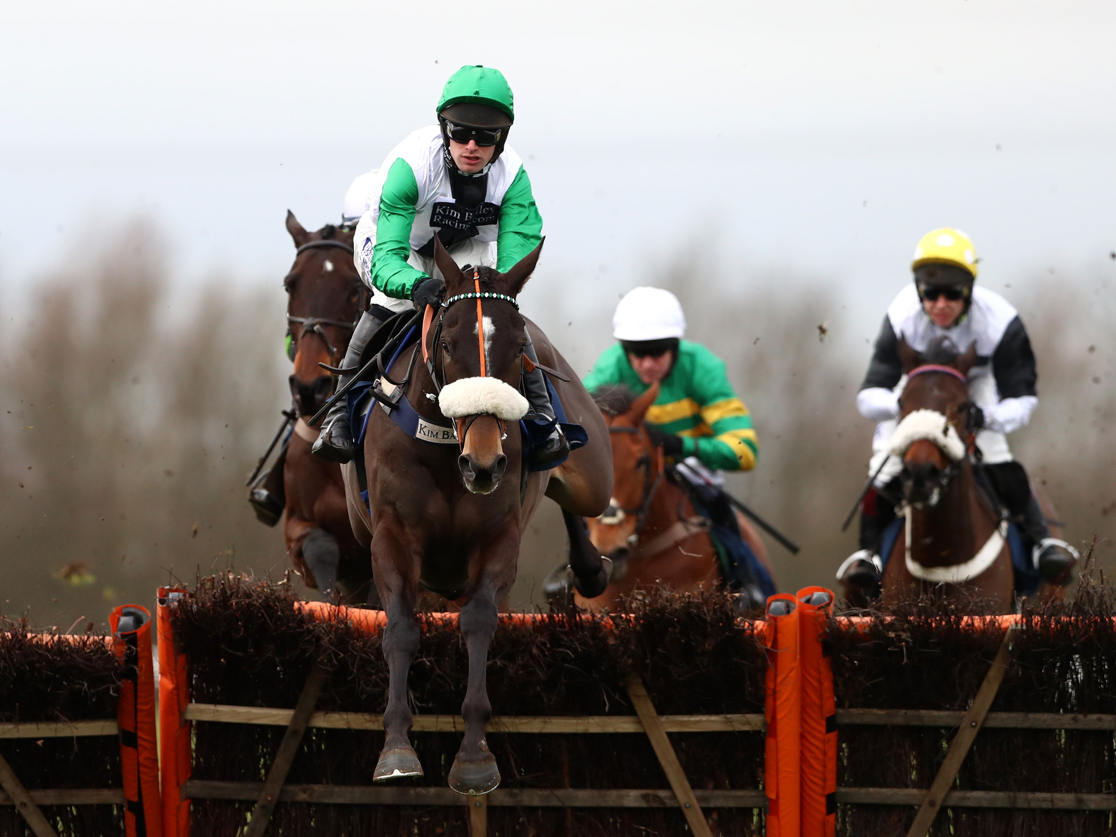 Vinndication who Kim Bailey believes can be a Magners Gold Cup contender (Tim Goode/PA Images)