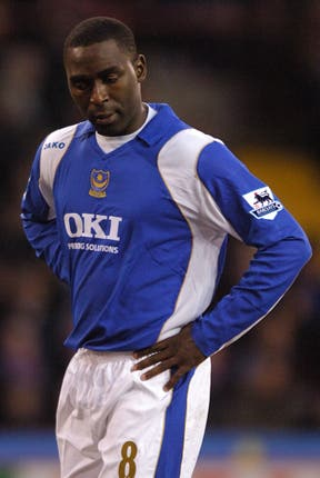 Andy Cole played alongside Sol Campbell at Portsmouth (Rui Vieira/PA)