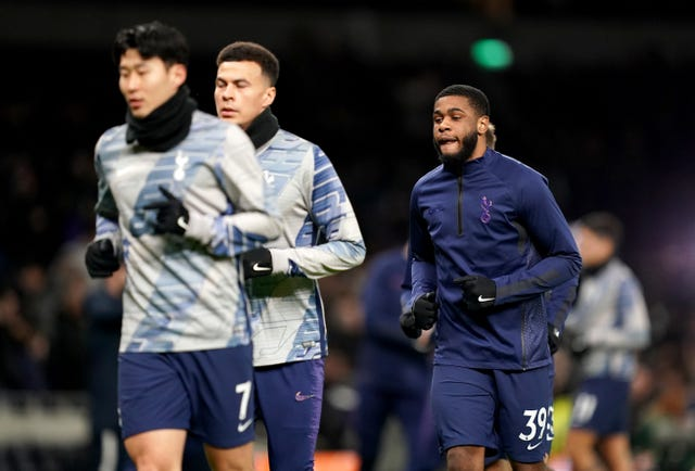 Tanganga has integrated himself into the Tottenham squad