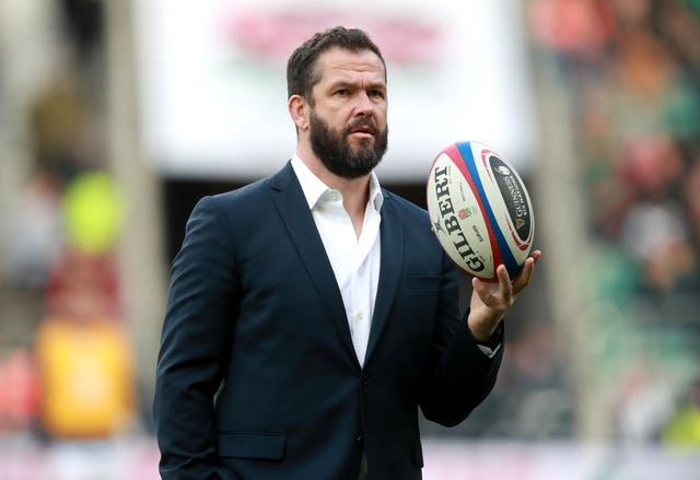 Ireland head coach Andy Farrell, pictured, has not closed the door on scrum-half John Cooney