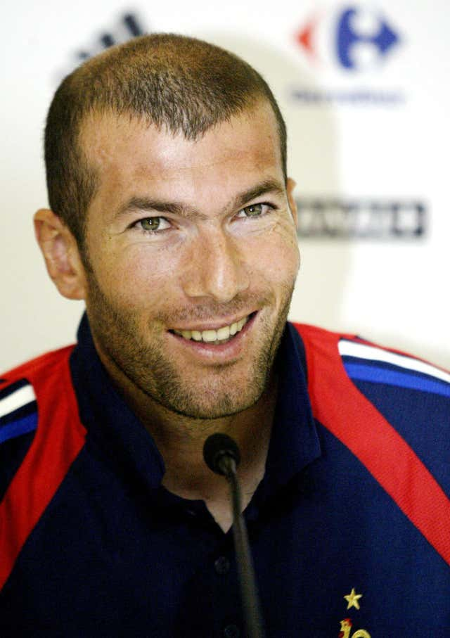 Zinedine Zidane starred for France at World Cup 1998 and Euro 2000