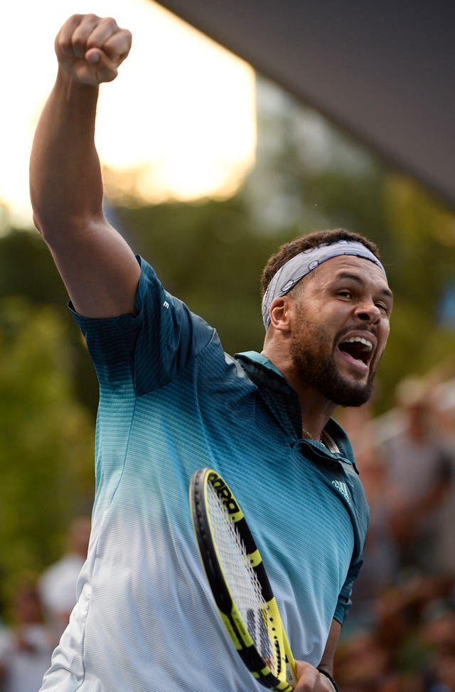 Jo-Wilfried Tsonga reached the final in Melbourne 11 years ago, where he was beaten by Djokovic (Andy Brownbill/AP).