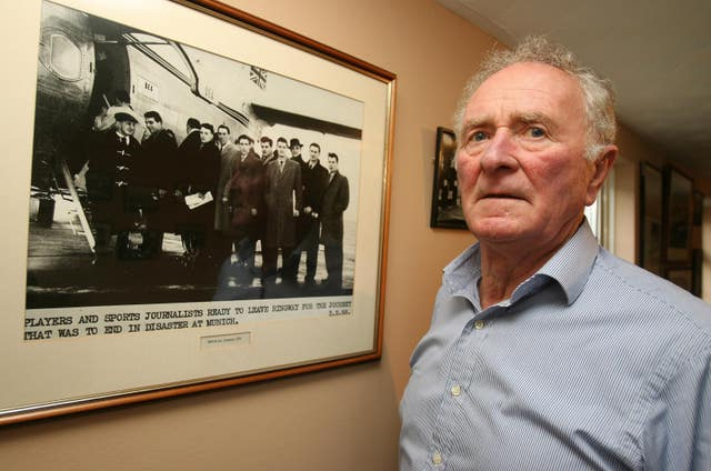 Harry Gregg was hailed a hero after the Munich air disaster